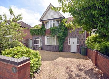 Thumbnail 4 bed detached house for sale in Halstead Road, Mountsorrel, Loughborough