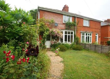 Thumbnail 4 bed semi-detached house to rent in Station Road, Grateley, Andover