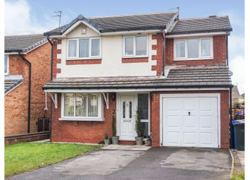 Thumbnail 4 bed detached house for sale in Milngate Close, Rochdale