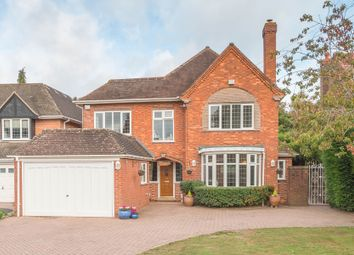 Thumbnail 5 bed detached house for sale in Hampton Lane, Solihull