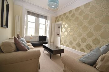 Thumbnail 2 bed flat to rent in Comely Bank Road, Edinburgh, Available 25th August