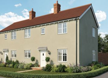 Thumbnail 2 bed semi-detached house for sale in The Newton, St Peter's Place, Church Road, Stutton