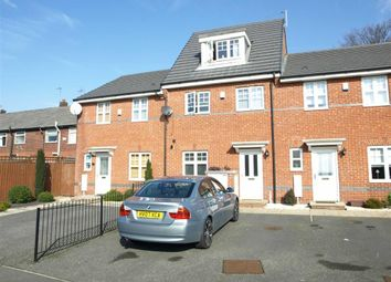 Thumbnail 3 bed town house to rent in Oakwood Grove, Manchester