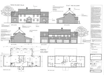 Thumbnail 4 bedroom detached house for sale in Kings Dam, Gillingham, Beccles