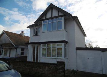 Thumbnail 3 bedroom detached house to rent in Cavendish Road, Bognor Regis, West Sussex.