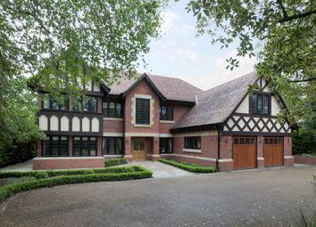 Thumbnail 7 bed detached house to rent in Chorley Hall Lane, Alderley Edge
