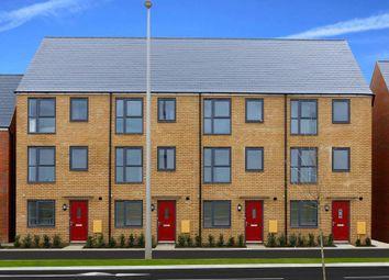 "Thumbnail 4 bed semi-detached house for sale in ""Faversham"" at Fen Street, Brooklands, Milton Keynes"