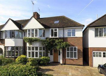 Thumbnail 4 bed semi-detached house for sale in Grove Gardens, Teddington