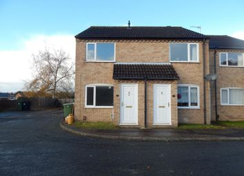 Thumbnail 2 bed end terrace house to rent in Whitegates, Costessey, Norwich