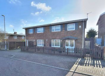 Thumbnail 4 bed detached house for sale in Exmouth Avenue, Corby, Northamptonshire