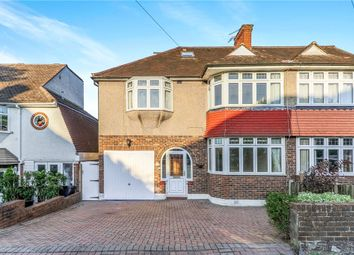 Thumbnail 4 bed semi-detached house for sale in Downs Way, Epsom, Epsom
