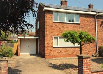 Thumbnail 3 bed semi-detached house for sale in Manners Road, Balderton, Newark