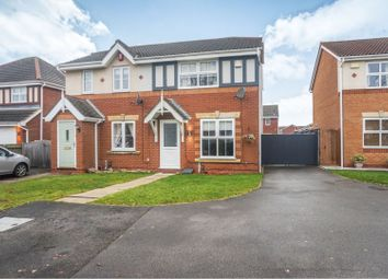 Thumbnail 3 bed semi-detached house for sale in Wren Crescent, Scartho Top, Scartho
