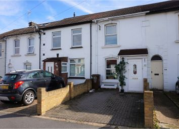 Thumbnail 2 bed terraced house for sale in Nelson Road, Gillingham