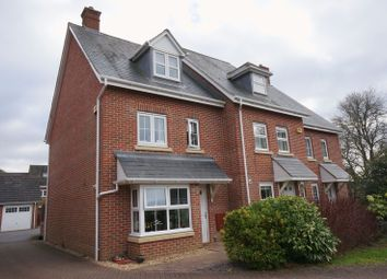 Thumbnail 4 bed semi-detached house to rent in Goldcrest Way, Four Marks, Alton