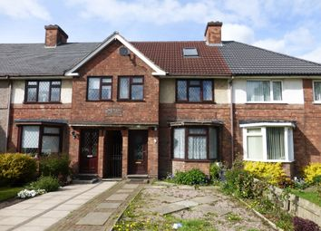 Thumbnail 4 bedroom terraced house for sale in Marsh Lane, Erdington, Birmingham