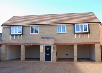 Thumbnail 2 bed flat for sale in Oak Row, Brixworth, Northampton