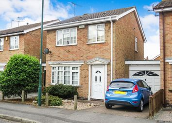 Thumbnail 3 bedroom detached house for sale in Fairway Drive, Bulwell, Nottingham