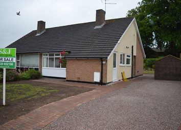Thumbnail 2 bed bungalow for sale in Grove Gardens, Market Drayton
