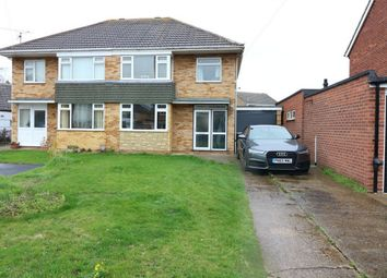 Thumbnail 3 bed semi-detached house for sale in Rycroft Avenue, Deeping St James, Market Deeping, Lincolnshire