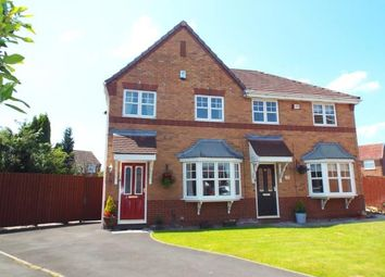 Thumbnail 3 bed semi-detached house for sale in Mullein Close, Lowton, Warrington