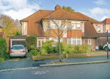 Thumbnail 3 bed semi-detached house for sale in The Lees, Croydon