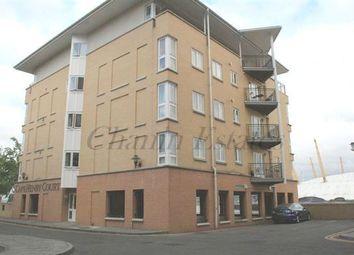 Thumbnail 2 bedroom flat to rent in Jamestown Way, London