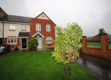 Thumbnail 3 bed town house to rent in Waterford Close, Platt Bridge, Wigan