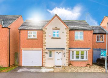 Thumbnail 5 bed detached house for sale in Bunting Road, Corby