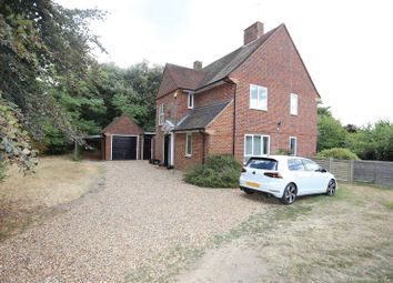 Thumbnail 4 bed detached house to rent in Church Road, Woodley, Reading