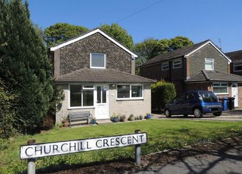 Thumbnail 3 bed detached house for sale in Churchill Crescent, Marple, Stockport