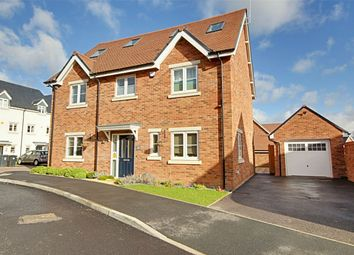 Thumbnail 5 bed detached house for sale in Hodgson Way, Gilston, Harlow, Hertfordshire