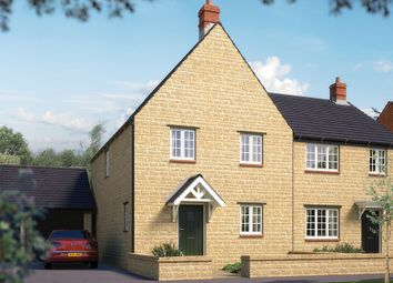"Thumbnail 3 bed property for sale in ""The Clarendon"" at Towcester Road, Silverstone, Towcester"
