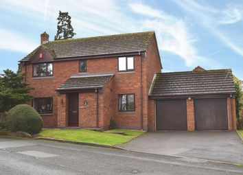 Thumbnail 4 bedroom detached house for sale in Donnerville Gardens, Wellington, Telford, Shropshire
