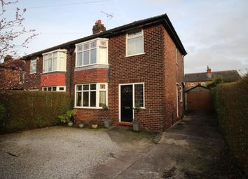 Thumbnail 3 bed semi-detached house to rent in Dundonald Road, Cheadle Hulme, Cheadle