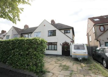 Thumbnail 3 bed semi-detached house for sale in Caldbeck Avenue, Worcester Park