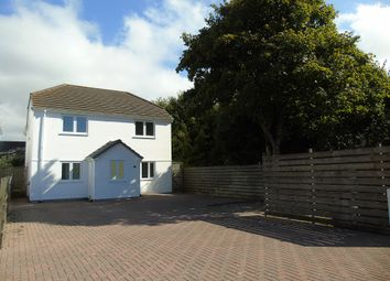 Thumbnail 4 bedroom detached house for sale in The Palms, Helston Road, Rosudgeon, Penzance, Cornwall.