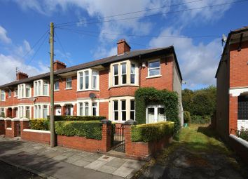 Thumbnail 3 bed property for sale in Leckwith Avenue, Cardiff