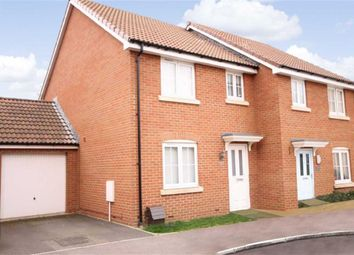 Thumbnail 3 bed semi-detached house to rent in Blain Place, Royal Wootton Bassett, Wiltshire