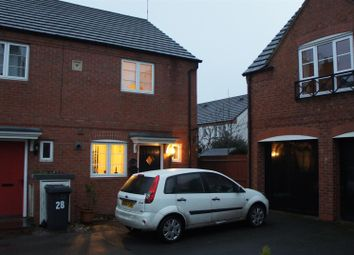 Thumbnail 2 bedroom end terrace house for sale in Brook Drive, Ratby, Leicester