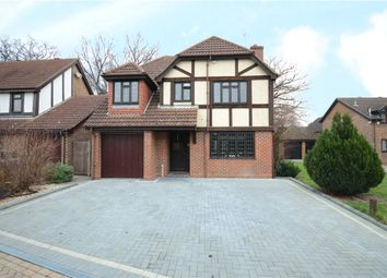 Thumbnail 4 bed detached house for sale in Bacon Close, College Town, Sandhurst