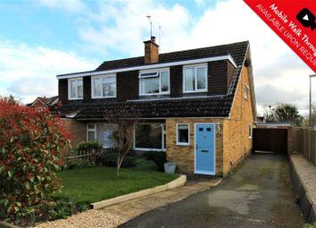 Thumbnail 3 bed semi-detached house for sale in Gloucester Road, Bagshot, Surrey