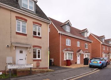 Thumbnail 4 bedroom town house to rent in Graylingwell Drive, Chichester