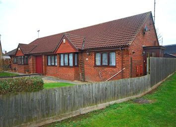 Thumbnail 3 bed semi-detached bungalow for sale in Rowan Close, Holbeach, Spalding
