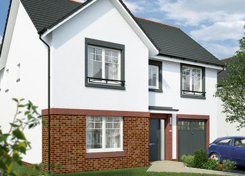 "Thumbnail 4 bed detached house for sale in ""The Norbury"" at Lochview Terrace, Gartcosh, Glasgow"