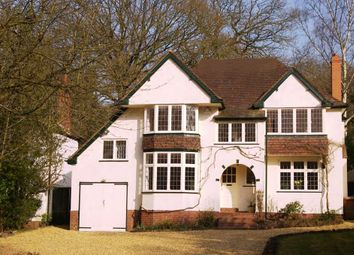 Thumbnail 4 bed detached house to rent in Walsall Road, Little Aston, Sutton Coldfield, West Midlands