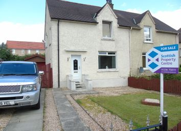 Thumbnail 3 bed semi-detached house for sale in Hillfoot Road, Gartlea, Airdrie