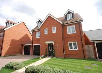 Thumbnail 5 bed detached house for sale in Freyberg Drive, Aylesbury, Buckinghamshire