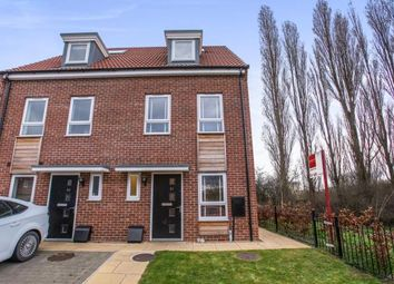 Thumbnail 3 bedroom end terrace house for sale in Turner Close, York