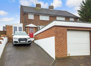 Thumbnail 3 bedroom semi-detached house for sale in Alamein Avenue, Chatham, Kent